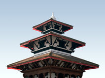 Het Vierkant van Durbar - Katmandu, Nepal. stock afbeeldingen