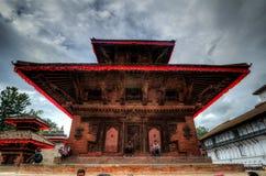 Het Vierkant van Durbar, Nepal, Katmandu Stock Foto