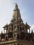 Het Vierkant van Durbar - Patan - Katmandu - Nepal Royalty-vrije Stock Afbeelding