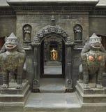 Het Vierkant van Durbar - Patan - Katmandu - Nepal Stock Afbeeldingen