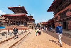Het vierkant van Durbar van Patan royalty-vrije stock foto