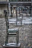 Het Vierkant van Gettohelden, Krakau Royalty-vrije Stock Foto