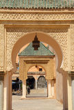 Het Vierkant van Gr Hedim, Meknes, Marokko Stock Afbeeldingen