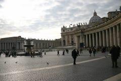 Het vierkant van heilige Peter Stock Foto's
