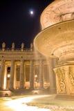 Het Vierkant van heilige Peter. Rome. Italië, Vatikaan royalty-vrije stock fotografie
