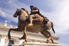 Het vierkant van het Capitool van Rome royalty-vrije stock afbeeldingen