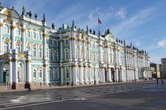 Het Vierkant van het paleis Royalty-vrije Stock Afbeelding