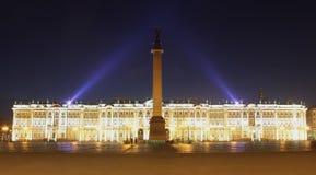 Het vierkant van het Paleis, St. Peterburg, Rusland Stock Fotografie