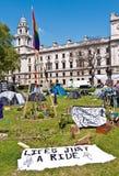 Het Vierkant van het Parlement van het Kamp van de vrede Stock Afbeeldingen