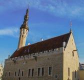 Het Vierkant van het Stadhuis Royalty-vrije Stock Afbeelding