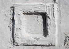 Het vierkant van het zand Stock Afbeeldingen