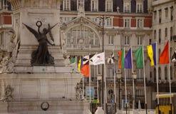 Het vierkant van Independencia royalty-vrije stock foto