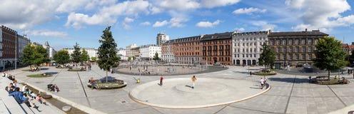 Het Vierkant van Israël in Kopenhagen, Denemarken royalty-vrije stock foto