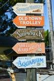 Het Vierkant van Mallory, Key West, Florida royalty-vrije stock foto's