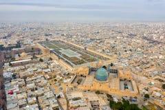 Het Vierkant van naqsh-e Jahan in Isphahan, Iran, in Januray 2019 wordt genomen genomen in hdr die stock afbeeldingen