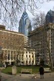 Het vierkant van Rittenhouse Stock Foto