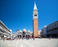 Het vierkant van San Marco Royalty-vrije Stock Foto