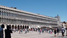 Het vierkant van San Marco, Venetië Stock Fotografie