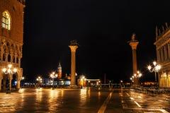 Het Vierkant van San Marco in Venetië, Italië Stock Fotografie