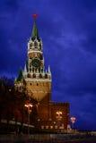 Het Vierkant van Spasskaya Tower Stock Foto's