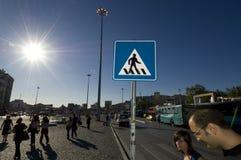 Het Vierkant van Taksim, Istanboel-Turkije Stock Afbeelding