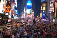 Het vierkant van tijden - de stad van New York Stock Fotografie