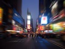 Het vierkant van tijden, Manhattan, New York stock foto's