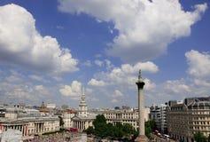 Het Vierkant van Trafalgar Stock Afbeeldingen