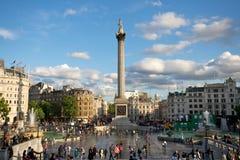 Het Vierkant van Trafalgar, Londen Royalty-vrije Stock Fotografie
