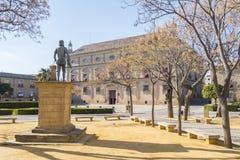 Het Vierkant van Vazquez Molina, Ubeda, Spanje royalty-vrije stock afbeelding