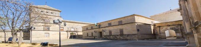 Het Vierkant van Vazquez Molina, Ubeda, Spanje stock afbeelding