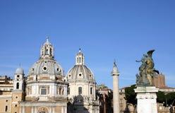Het vierkant van Venezia in Rome Royalty-vrije Stock Afbeeldingen