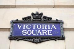 Het Vierkant van Victoria, Birmingham stock foto's