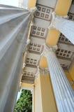 Het vierkant van het Zappeionmuseum in Athene, Griekenland op 23 Juni, 2017 Stock Afbeelding