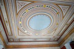 Het vierkant van het Zappeionmuseum in Athene, Griekenland op 23 Juni, 2017 Royalty-vrije Stock Afbeelding