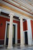 Het vierkant van het Zappeionmuseum in Athene, Griekenland op 23 Juni, 2017 Royalty-vrije Stock Afbeeldingen