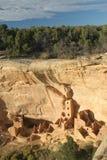 Het vierkante Huis van de Toren, Mesa Verde Royalty-vrije Stock Afbeelding