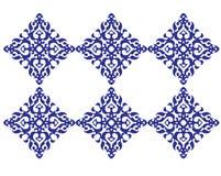 Het vierkante patroon van het mozaïek stock illustratie