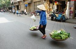 Het Vietnamese Leven van de Straat Royalty-vrije Stock Foto