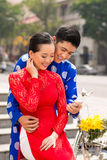 Het Vietnamese moderne leven Stock Afbeelding