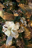 Het Vignet van de kerstboom royalty-vrije stock afbeelding
