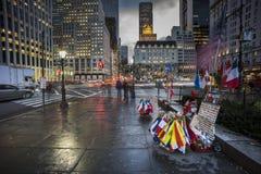 Het vijfde Ave van Manhattan van de Stad van New York stock fotografie