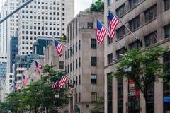 Het vijfde Centrum van Rockefeller van de Weg Royalty-vrije Stock Foto's