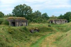 Het Vijfde Fort van de Vesting van Brest in Wit-Rusland royalty-vrije stock afbeelding