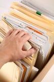 Het vinden van document stock afbeeldingen