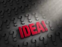 Het vinden van een Idee! Royalty-vrije Stock Afbeelding