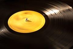 Het vinyl Spelen van het Verslag Stock Fotografie