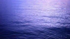 Het viooltje van de het staalzonsondergang van de watertextuur HD 1920x1080 stock footage