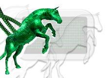 Het virus van de computer Stock Afbeeldingen