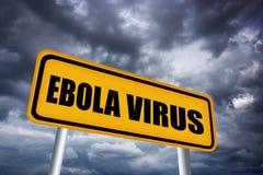 Het virus van Ebola Stock Afbeeldingen